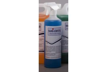 Botella de Limpiacristales multiusos 1 L.+pulv.* KAMICRISTAL
