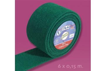 Rollo fibra verde 6 mts.