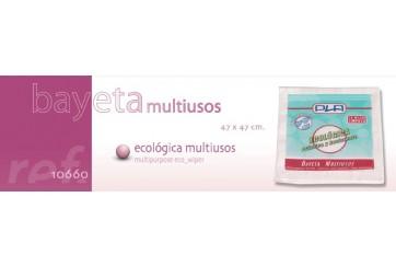 Pack de 12 Bayetas microfibra ecológicas 40x38 cms.