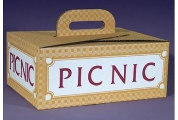 Paquete de 20 Cajas de cartón microcanal para picnic
