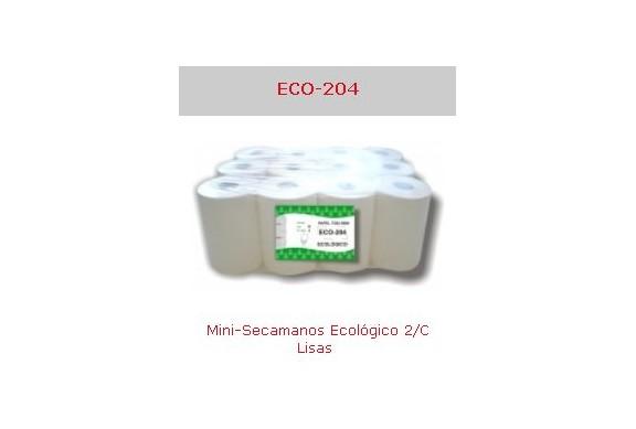 Saco de 12 Rollos minisecamanos 2 capas Eco Ref.Eco-204