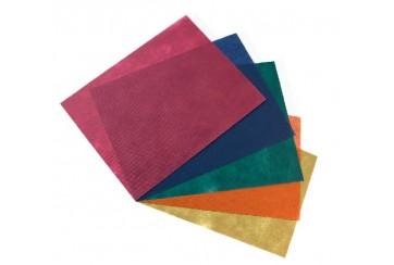 Caja de 500 Manteles polipropileno 30x40 cms. colores