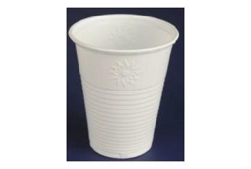 Caja de 3000 Vasos plástico blancos 220 c.c.