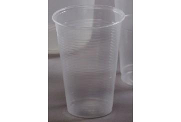 Caja de 3000 Vasos plástico transparentes 220 c.c.
