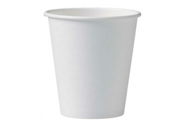 Caja de 1000 Vasos de cartón para b.calientes 10 cl. blancos