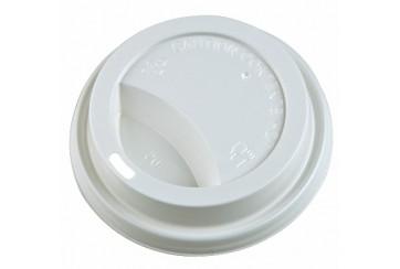 Caja de 1000 Tapas para vasos de cartón de b.calientes 10 cl.