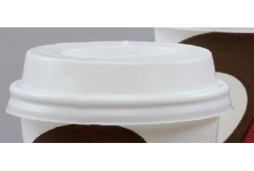 Caja de 1000 Tapas para vasos de cartón de b.calientes 28 cl.