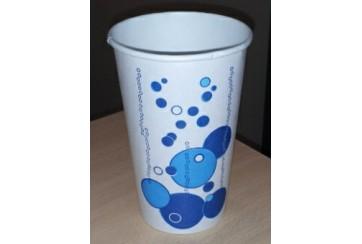 Caja de 1000 Vasos cartón bebidas frías 53 cl. Modelo Burbujas