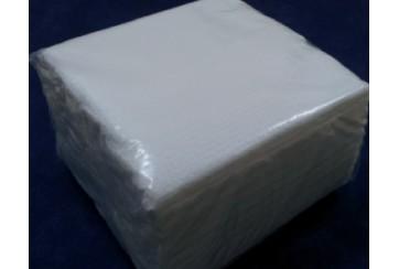 Caja de 48 Paquetes de servilletas tissue 1c 30x30 cms. blancas