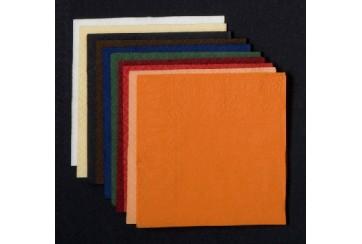 Servilletas micropunto Micropunt 20x20 cms.colores. colores