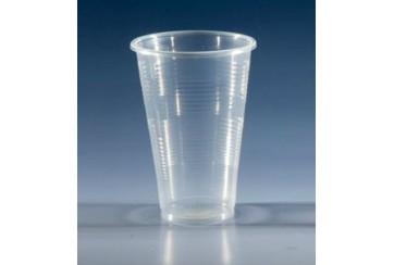 Caja de 2000 Vasos plástico transparentes 350 c.c.