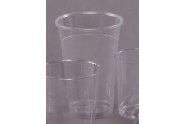 Caja de 800 Vasos plástico transparentes 50 cl.