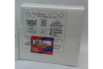 Servilletas tissue 2 capas 40x40 cms. Brisa® Paq.50 Navidad_03