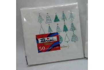 Servilletas tissue 2 capas 40x40 cms. Brisa® Paq.50 Navidad_02