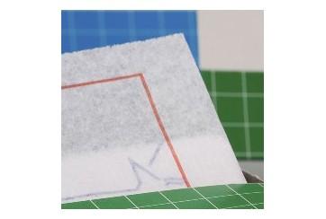 Caja de 100 Paquetes de 300 servilletas 15x15 cms. Zig-Zag