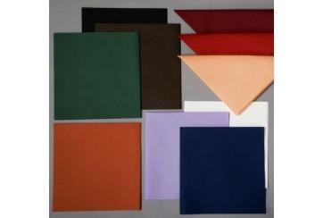Servilletas tissue-seco Brisacel 40x40 cms. colores