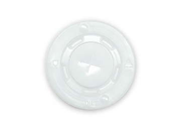 Caja de 1000 Tapas para vasos foam 250 ml. en paquetes de 100