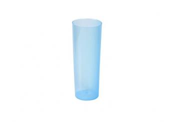 Caja de 500 Vasos tubo polipropileno irrompibles 330 cc azules