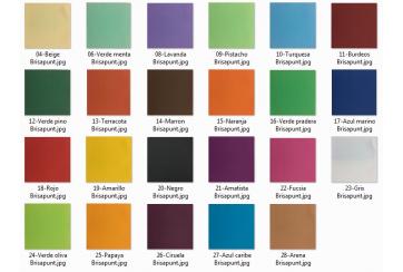 Caja de 1800 Servilletas Brisapunt 40x40 cms. colores