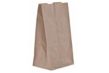 Bolsas papel 25x43+15 cms. kraft