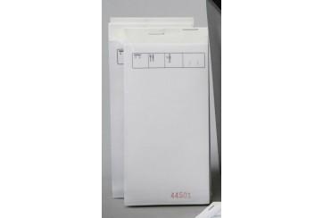 Paquete de 10 Talonarios 7,5x15 cms. copia 2 hojas papel químico