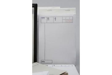 Paquete de 10 Talonarios 10x15 cms. copia 3 hojas papel químico