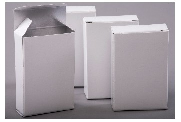Caja de 750 Cajitas dispensadoras cartón blanco