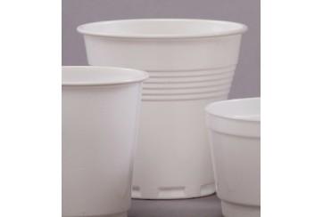Caja de 3000 Vasos plástico blancos 166 c.c. Vending