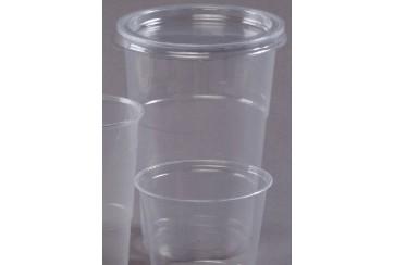Caja de 500 Tarrinas plástico transparentes 1000 c.c.