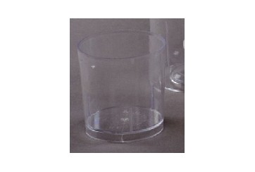 Caja de 1008 Vasos chupito PS transparentes 40 c.c.