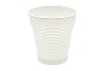 Caja de 4800 Vasos plástico blancos 90 c.c. Vending
