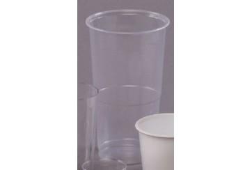Caja de 1250 Vasos plástico transparentes 30 cl.