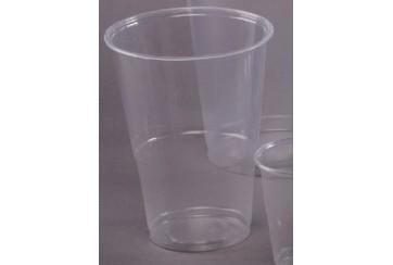 Caja de 1000 Vasos plástico transparentes 35 cl.
