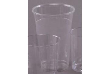 Caja de 1000 Vasos plástico transparentes 40 cl.