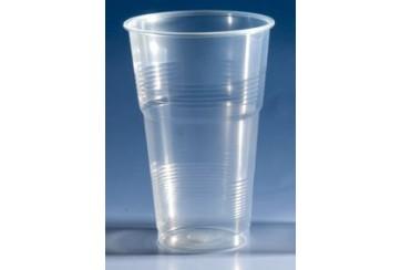 Caja de 1000 Vasos plástico transparentes 500 c.c.