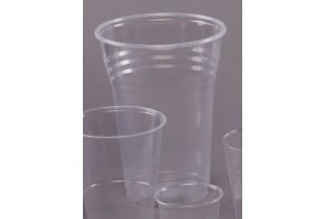 Caja de 750 Vasos plástico transparentes 1 l.