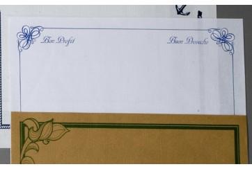 Caja de 1000 Manteles celulosa 40 gr. 30x40 cms. blancos Eco BP