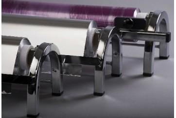 Portabobinas Inox ancho 40 cms.