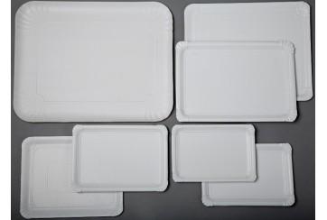 Paquete de 100 Bandejas cartón 11x17 cms. 3 LL