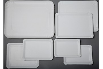 Paquete de 100 Bandejas cartón 23x33 cms. 11 LL