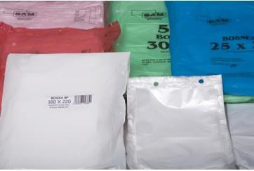 Paquete de 500 Bolsas mercado 21x27 cms. en Block