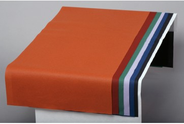 Caja de 250 Manteles tissue-seco Brisacel 40x110 cms. colores