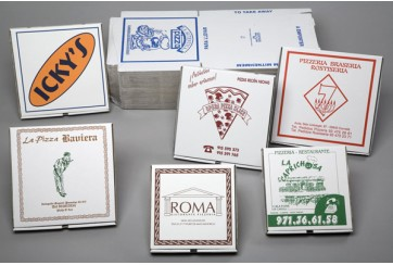 Cajas pizza microcanal personalizadas