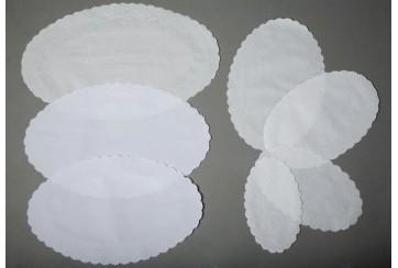 Paquete de 500 Ovales relieve antigrasa 15x25 cms. Nº1