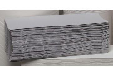 Caja de 24 Paquetes de 190 Toalletas ZZ 1 capa natural gofrada