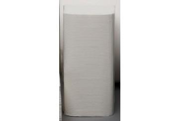 Caja de 16 Paquetes de 250 Toalletas ZZ 1 capa Extra gofrada