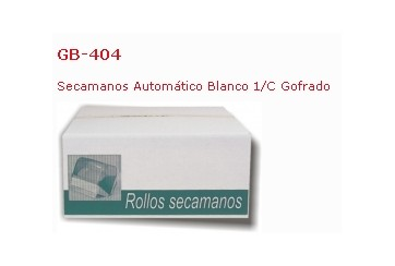 Caja de 12 Rollos toalletas 1 capa Eco gofrada