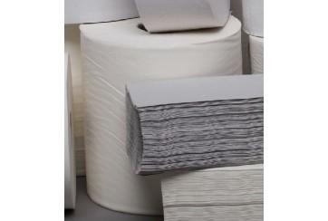 Saco de 6 Rollos secamanos 2 capas Extra 1,2 kgs.liso Kamicel