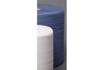 Saco de 2 Rollos celulosa industrial 2 capas azul laminada